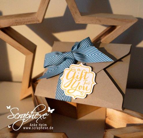 Geschenk, Envelope Punch Board