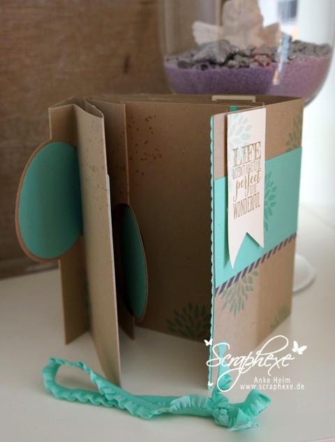 Thinlits Form Pop-Up-Karte - Album - scraphexe
