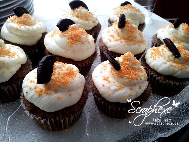Workshop@home #scraphexe #Oreo Cupcakes
