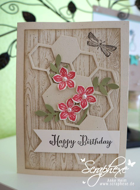 Geburtstagsgruß #Petite Petals #Bienenstock