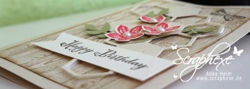 Geburtstagsgruss #Petite Petals #Bienenstock