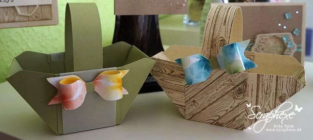 Osterkörbe #Envelope Punch Board