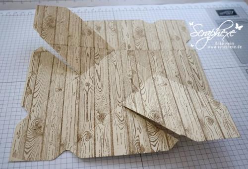 Osterkorb #Envelope Punch Board