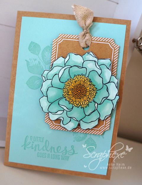 Blended Bloom, Mix-Marker, scraphexe