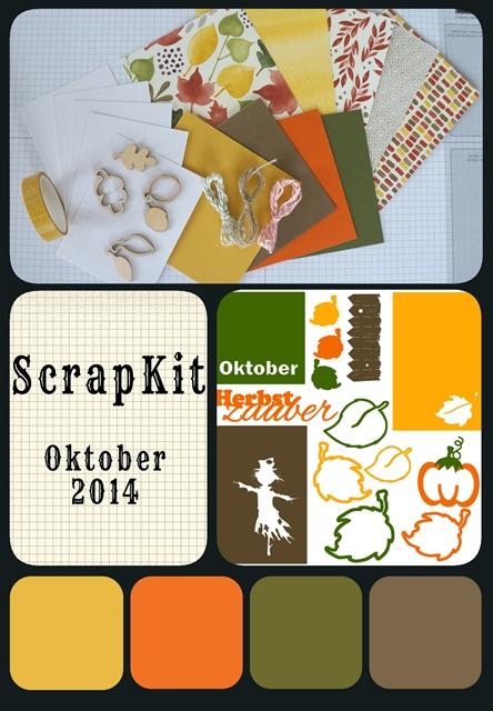Scrapkit Oktober 2014, Project Life, PL, #PLxSU, scraphexe