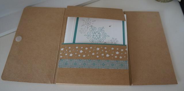 Weihnachtskarten, Kartenschachtel, Anleitung, scraphexe