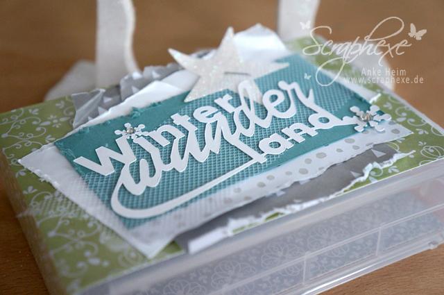 Minialbum, Wimpelkette, Scheunenparty, Scraphexe