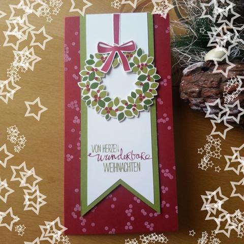 Kranz, Scheunenparty, Willkommen Weihnacht