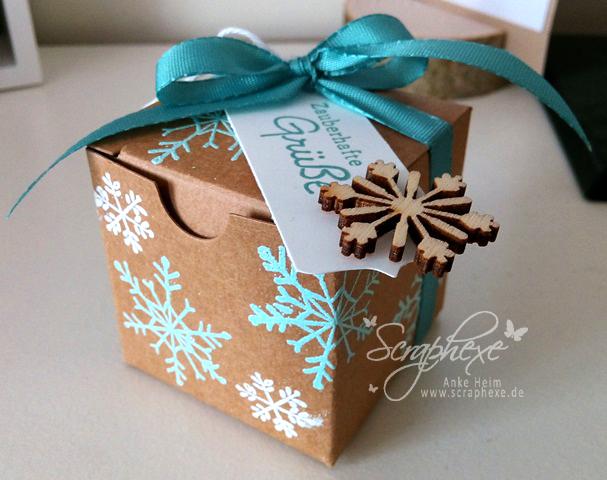Mini-Geschenkschachtel, Wünsche zum Fest, Endless Wishes, scraphexe