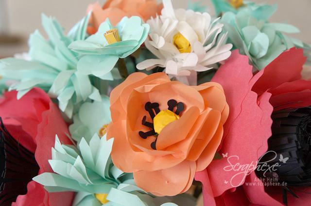 Blumenstrauß, Kreativset, Scraphexe