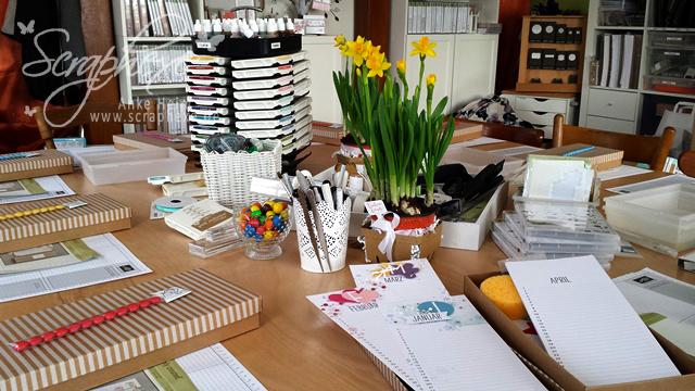 Kalenderkunst, Workshop