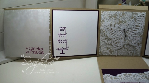 Hochzeit, Minialbum, scraphexe