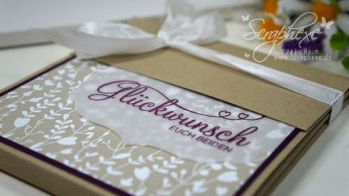 Hochzeit, Minialbum, Anleitung