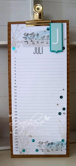 Projektset Kalenderkunst, scraphexe