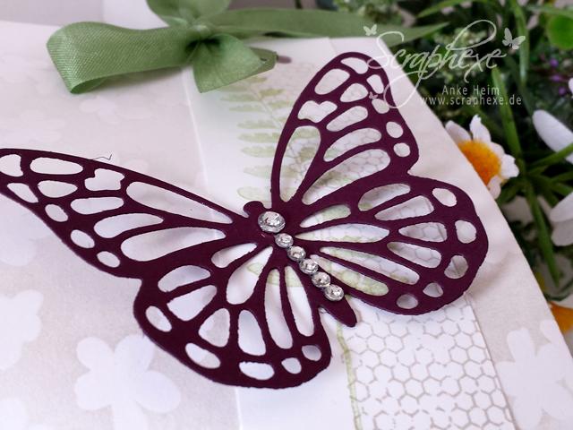 One Sheet Box, Thinlits Schmetterlinge, scraphexe