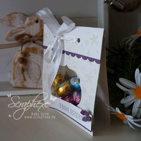 Schnelle Geschenkverpackung, Ostern, #scraphexe