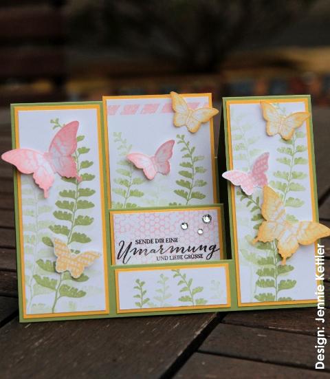 Schmetterlingsgruß, Scheunenparty